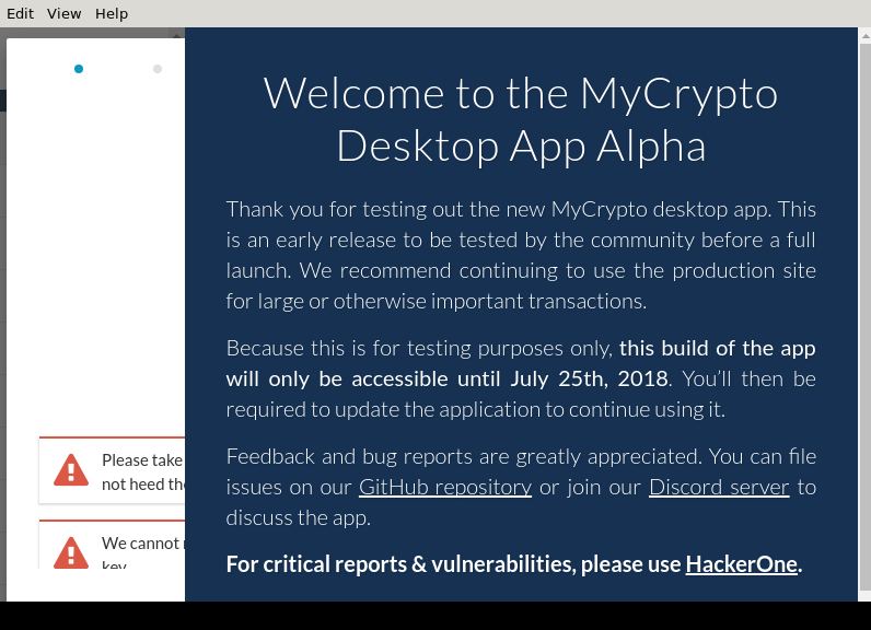 MyCrypto – AppImageHub
